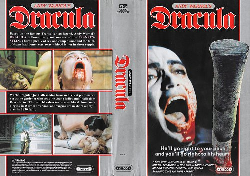 Blood for Dracula / Кровь для Дракулы (1974)