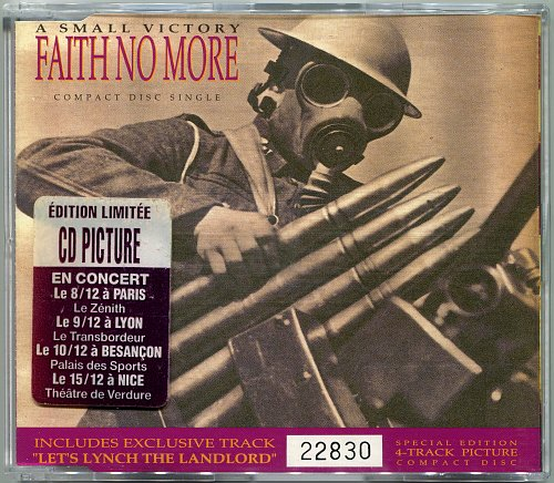 Faith No More - A Small Victory (CDS) (1992)