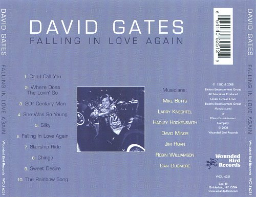 David Gates - Falling In Love Again (1980)