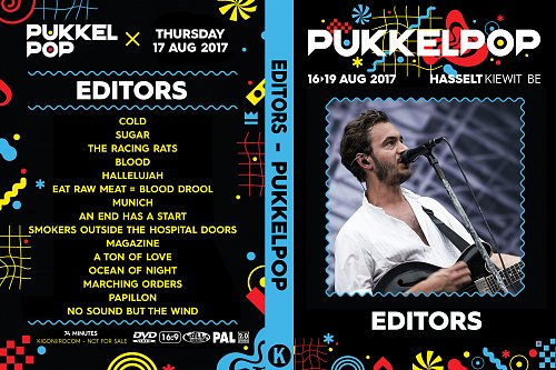 Editors - Pukkelpop (2017)