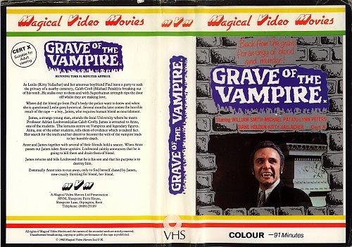 Grave of the Vampire  /  Могила вампира (1972)