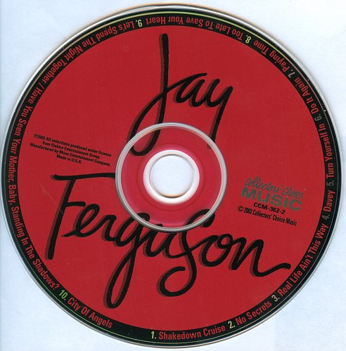 Jay Ferguson ‎- Real Life Ain't This Way (1979)