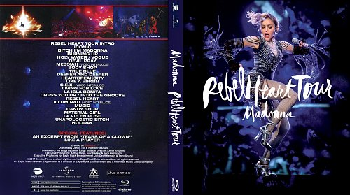 Madonna - Rebel Heart Tour (2017)