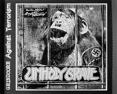 Unholy Grave - Terroraging Crisis (2004-2005 Studio Grave; 2006 Grind Freaks, Japan)