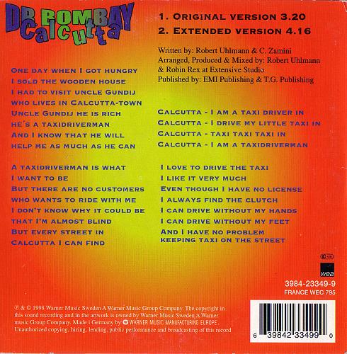 Dr. Bombay - Calcutta (1998)