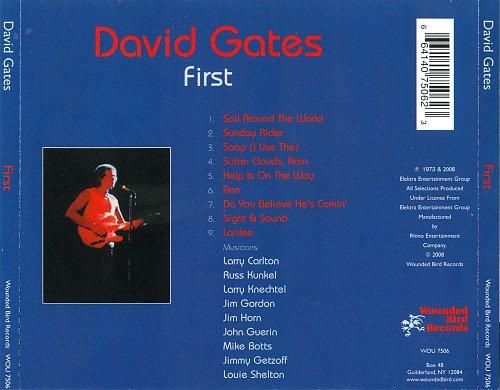 David Gates - First (1973)