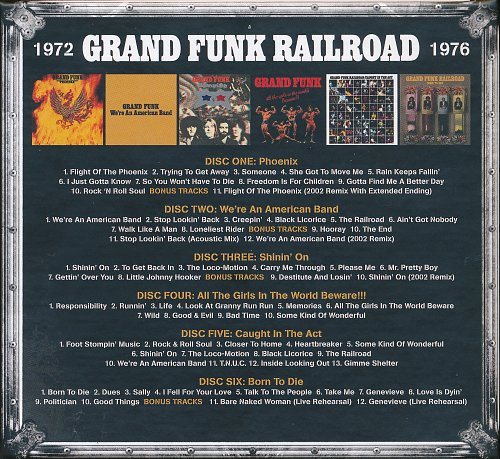 Grand Funk Railroad - Trunk Of Funk Vol. 2 (2017)