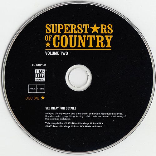 Superstars Of Country Volume Two - 2005