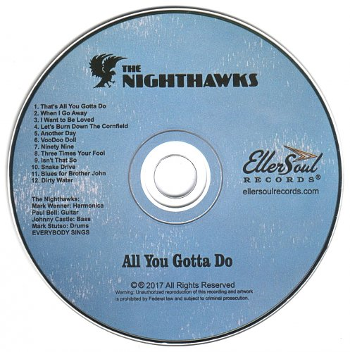 Nighthawks, The - All You Gotta Do (2017)