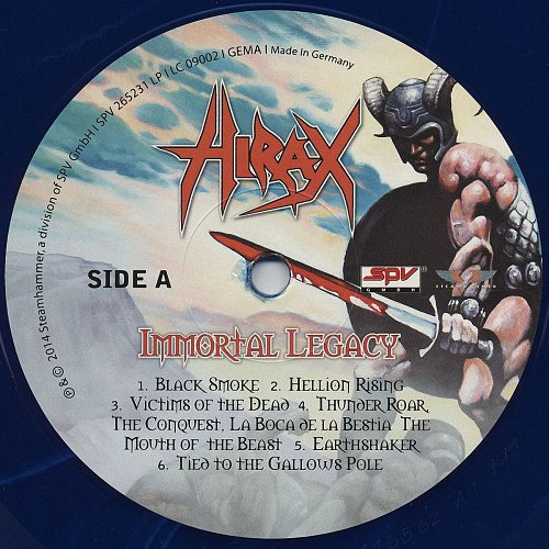 Hirax - Immortal Legacy (2014)