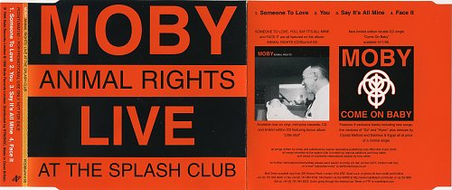Moby - Animal Right (Live At The Splash Club) (1996)