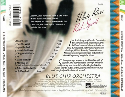 Blue Chip Orchestra - White River-Red Spirit (1997)