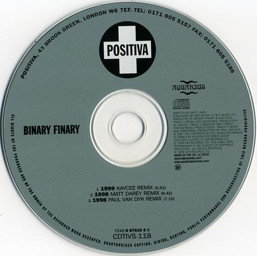 Binary Finary - 1999 (1999)