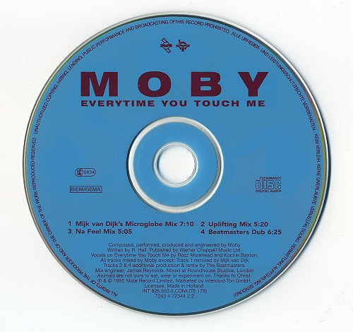 Moby - Everytime You Touch Me (1995)