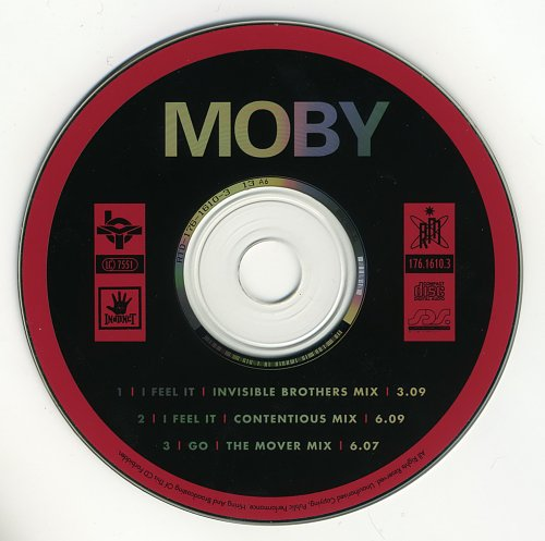 Moby - I Feel It (Next Is The E-Remix) (1993)