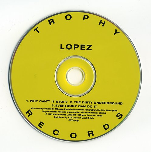 Moby (Lopez) - Why Can't It Stop (1995)