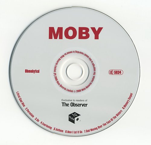 Moby - Exclusive To Readers Of 'The Observer' (2000)