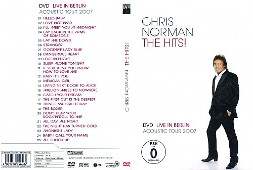 Chris Norman THE HITS! Live in Berlin & Acoustic Tour 2007