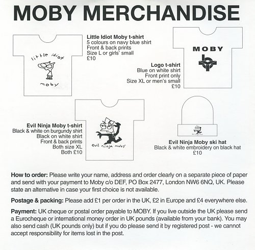 Moby - Play (Excerpts From) (1999)