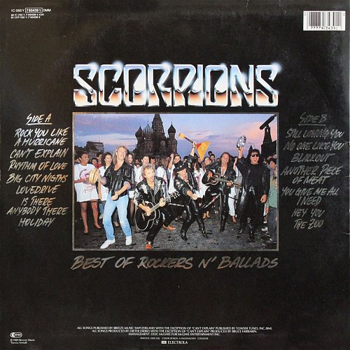 Scorpions - Best Of Rockers 'N' Ballads (1989)