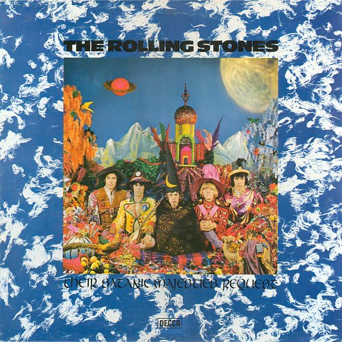 The Rolling Stones - Their Satanic Majesties Request (1967) Reissue: 1980