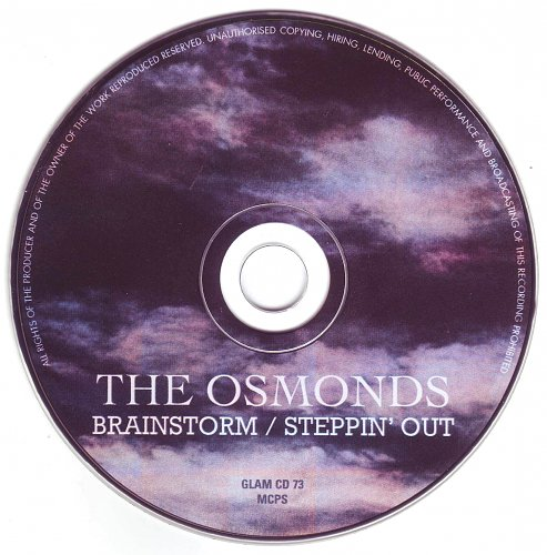 Osmonds, The - Brainstorm / Steppin' Out (1976, 1979)