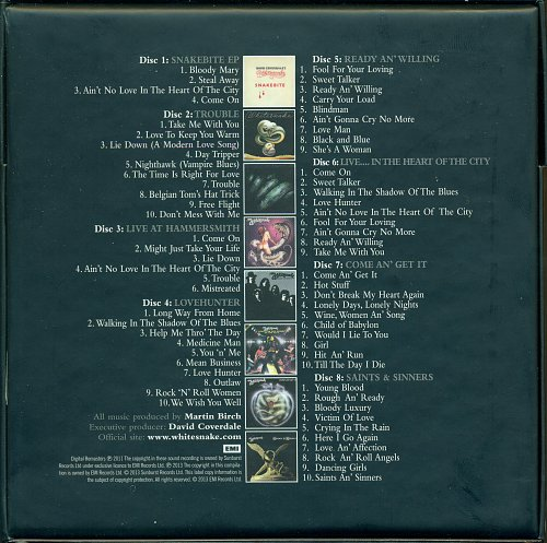 Whitesnake - Little Box 'O' Snakes. The Sunburst Years 1978-1982 (2013)