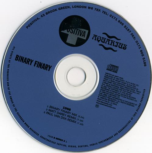 Binary Finary - 1998 (1998)