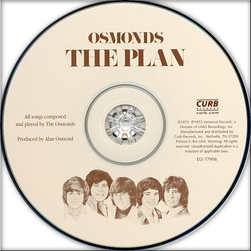 Osmonds, The - The Plan (1973)