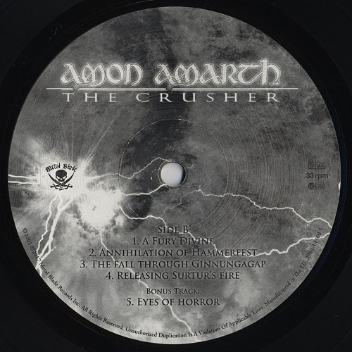 Amon Amarth - The Crusher (2001) Reissue 2017