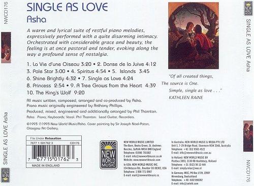 Asha - Single as Love (1993)