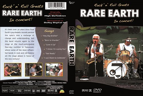 Rare Earth - Rock'n'Roll Greats In Concert (2004)