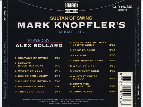 Alex Bollard - Sultan Of Swing (Mark Knopfler's Album Of Hits) (1994)