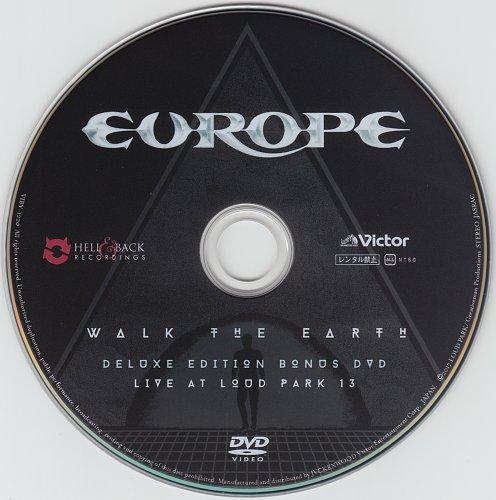 Europe - Walk The Earth (2017) [Victor Entertainment, Japan]