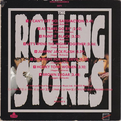 Rolling Stones, The - Les Annees Stones (1990)