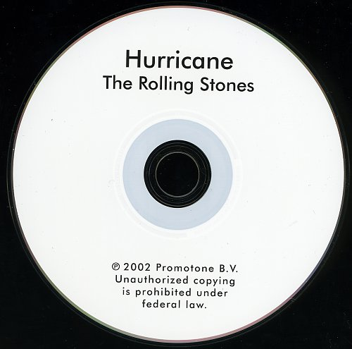 Rolling Stones, The - Hurricane (2002, Single)