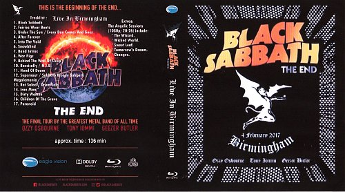 Black Sabbath - The End: Live In Birmingham 2017