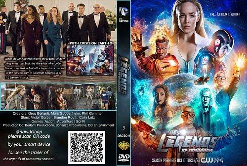 Легенды завтрашнего дня 3 сезон / DC's Legends of Tomorrow (2017)