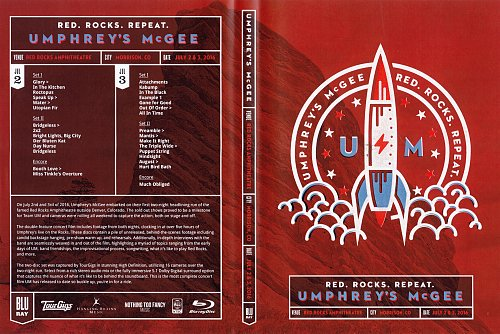 Umphrey's McGee - TourGigs Collection: Red Rocks Amphitheatre. Morrison CO (2017)