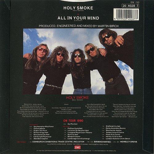 Iron Maiden -  Holy Smoke (1990) Single