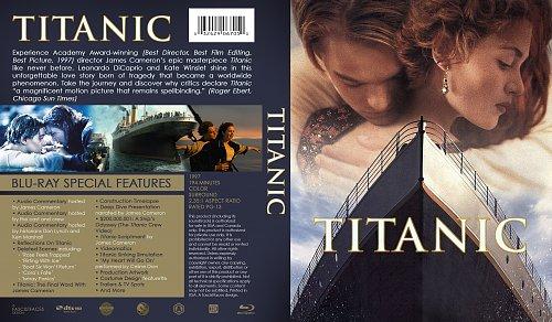 Titanic Blu-ray 1997 English