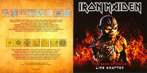 Iron Maiden - The Book Of Souls/Live Chapter (2017)  (Live album)