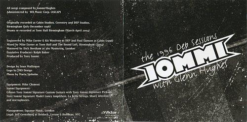Iommi (Tony Iommi Feat. Glenn Hughes) - The 1996 Dep Sessions (2004)