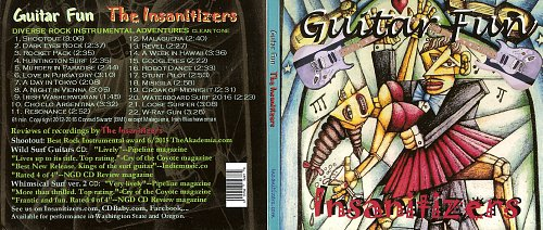 Insanitizers - Guitar Fun (2016)