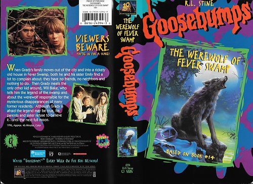 Goosebumps: The Werewolf of Fever Swamp / Мурашки: Оборотень малярийного болота (1996)