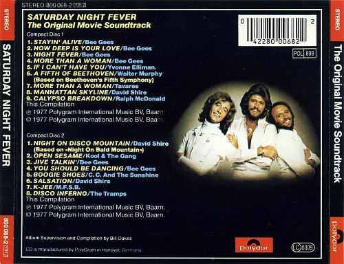 Staying Alive - Bee Gees & VA (Soundtrack) (1983)