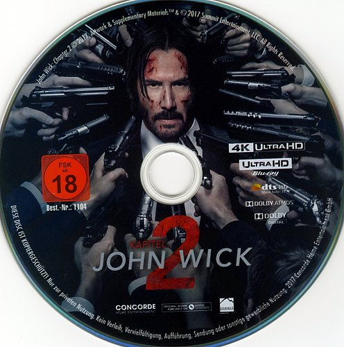 Джон Уик 2 / John Wick: Chapter Two (2017)