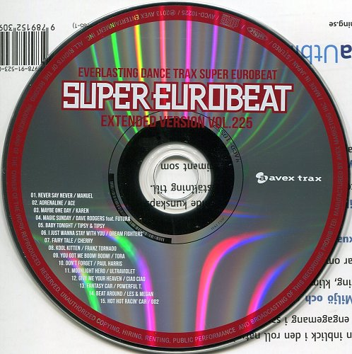 V.A. - Super Eurobeat Vol. 225 - Extended Version (2013)