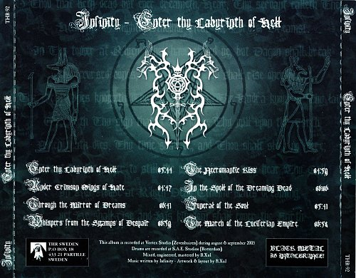 Infinity - Enter Thy Labyrinth Of Hell  (2005)