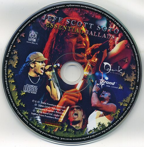 Jeff Scott Soto - Essential Ballads (2006)